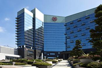 佛山华财酒店(喜来登)置入德生双屏人证机TSR-AS3