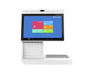 桌面式:双屏安卓人证识别一体机TSR-RS2(运输/考场)